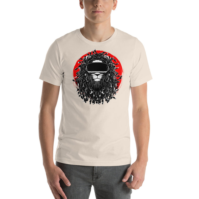 King of the Cyber Jungle Short-Sleeve Unisex T-Shirt