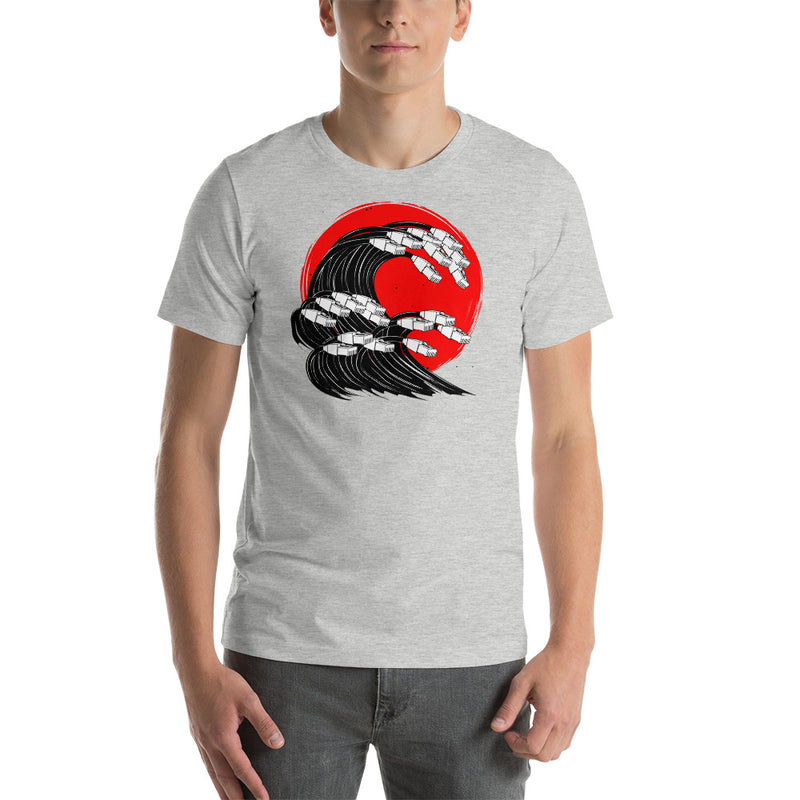 Sea of Cables Short-Sleeve Unisex T-Shirt