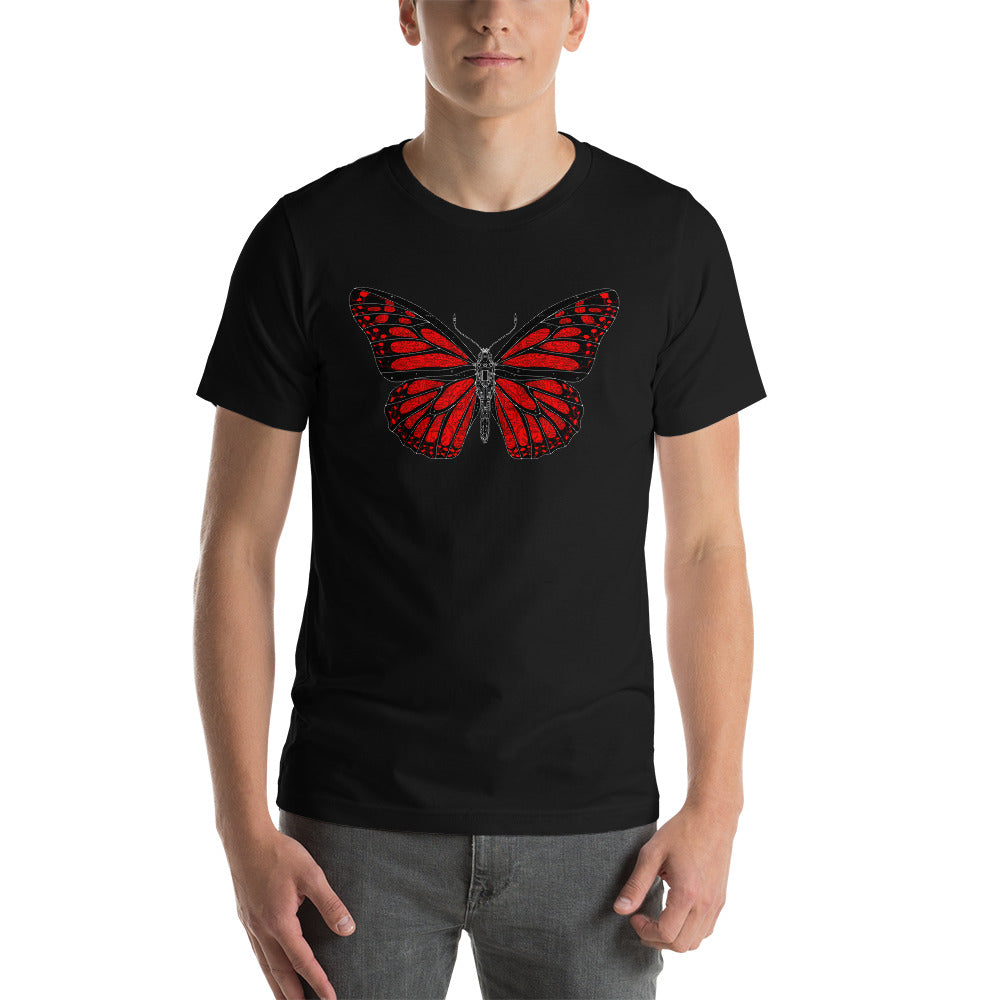 Butterfly Short-Sleeve Unisex T-Shirt