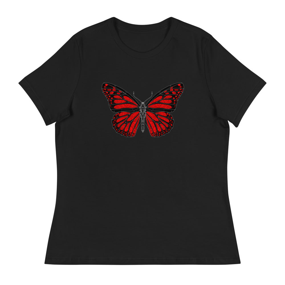 Butterfly Women's Relaxed T-Shirt