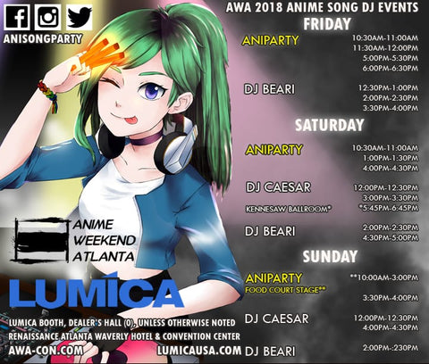 Lumica Presents U S  Debut of Japan's Premiere ANISONG DJ