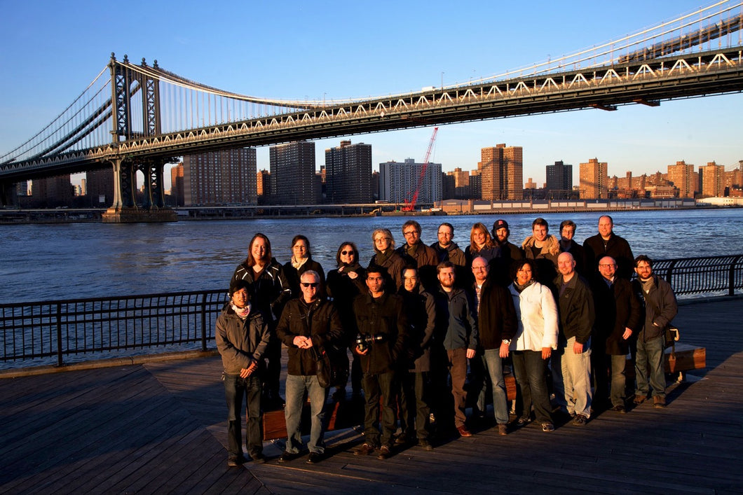 MediaStorm Participants group shot in Brooklyn