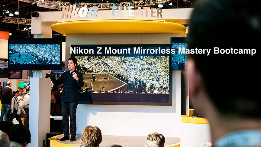 November 22, 2019 Steve Simon's Nikon Z6 & Z7 Series One Day Mirrorless Mastery Bootcamp