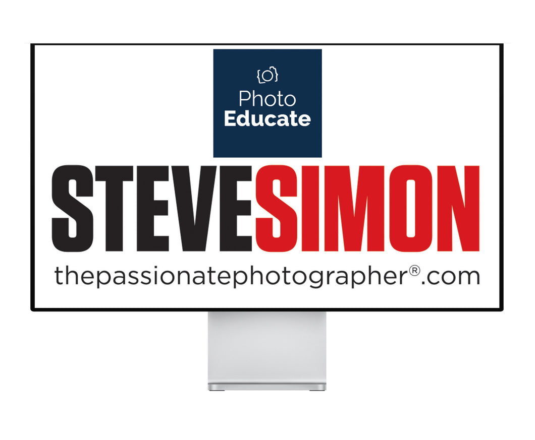 The Passionate Photographer Online Sessions with Steve Simon