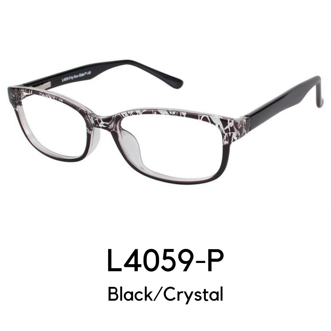 L4059-P Black/Crystal