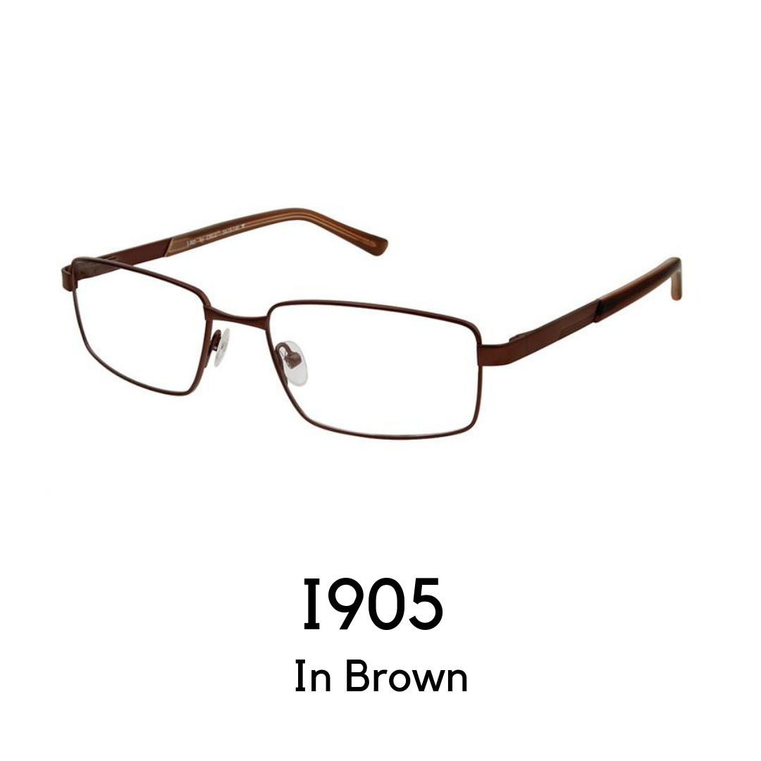 I-905 Brown (54 Eye Size)