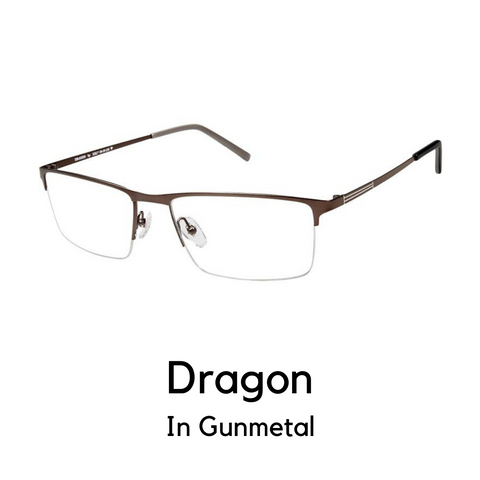 Dragon Gunmetal (57 Eye Size)