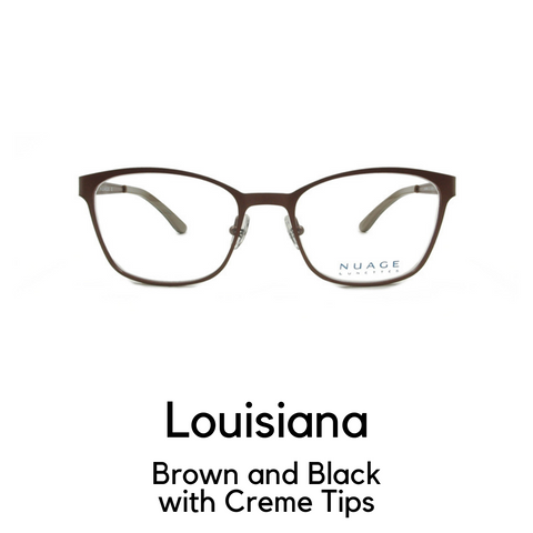 Louisiana in Brown and Black with Creme Tips