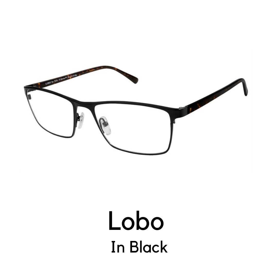 Lobo Black (56 Eye Size)