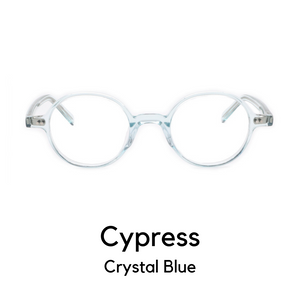 Cypress in Crystal Blue
