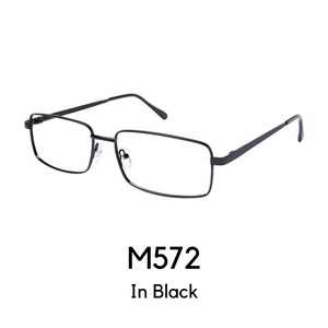 M572 Black (61 Eye Size)Reader