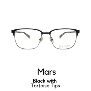 Mars in Black with Tortoise Tips