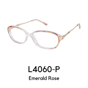 L4060-P Emerald Rose Reader