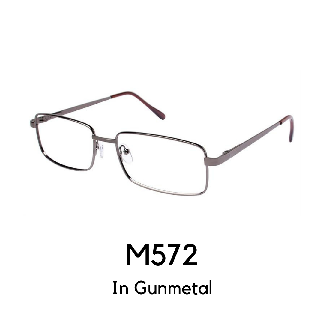 M572 Gunmetal (59 Eye Size) Reader