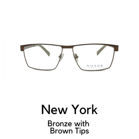 New York in Bronze with Brown Tips