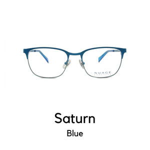 Saturn in Blue