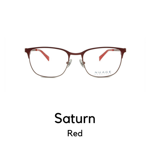 Saturn in Red