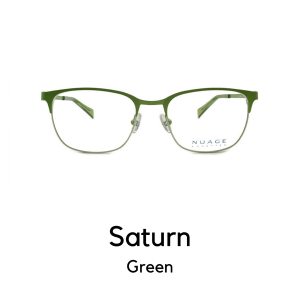 Saturn in Green