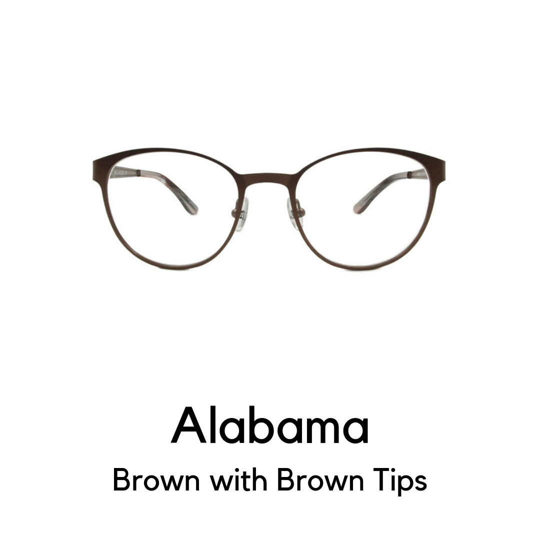 Alabama in Brown with Brown Tips