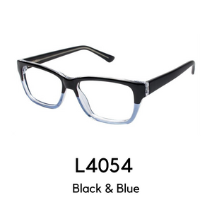 L4054 Black & Blue Reader