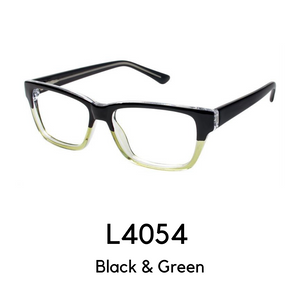L4054 Black & Green Reader