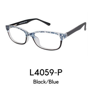 L4059-P Black/Blue Reader