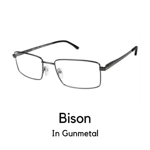 Bison Gunmetal (59 Eye Size)