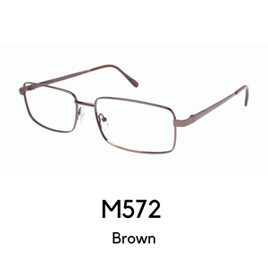 M572 Brown (59 Eye Size) Reader