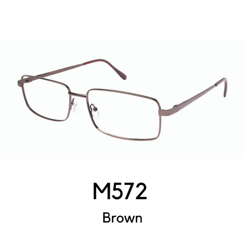 M572 Brown (59 Eye Size)
