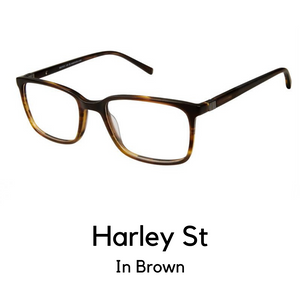 Harley St Brown (53 Eye Size)