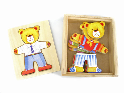 Dress up Bear Puzzle