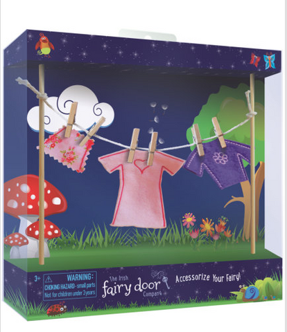 Fairy Door Clothes Line
