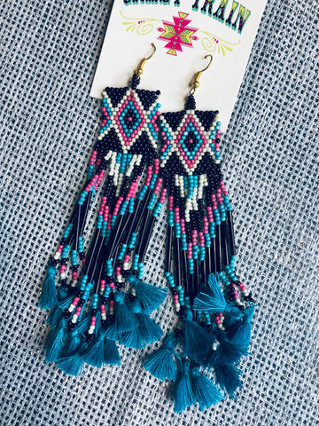 Pocahontas Tassel Earrings