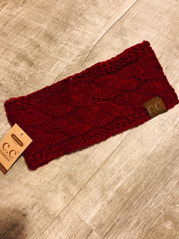 Sherpa Lined Headwarmer - The Pink Arrow Boutique