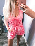Tie Dye Romper - The Pink Arrow Boutique
