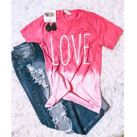 LOVE TEE - The Pink Arrow Boutique
