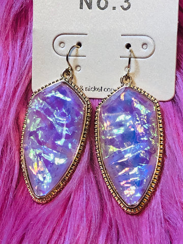 X Purple Daze Earrings - The Pink Arrow Boutique