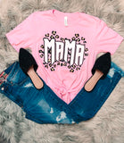 Leopard Mama Tee - The Pink Arrow Boutique
