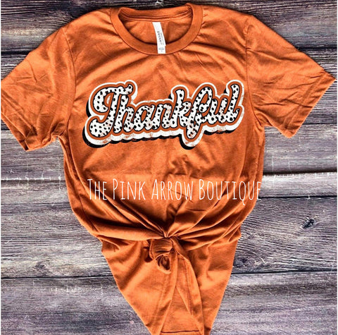 Autumn Thankful Tee
