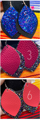 "2.5"" Two Tier Fashion Earrings"
