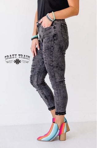 GO 2 SKINNIES - BLACK