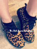 Cheetah sneakers - The Pink Arrow Boutique