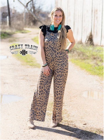 The Mia Swags Leopard Jumpsuit