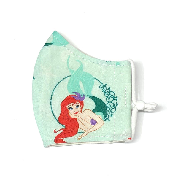 Child Face Masks (3-6yrs) - Ariel (Little Mermaid)