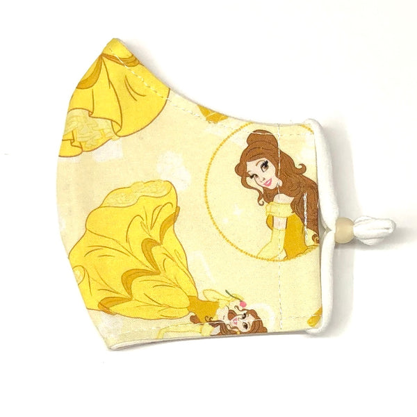 Youth Face Masks (7-12 yrs) - Belle (Beauty & The Beast)