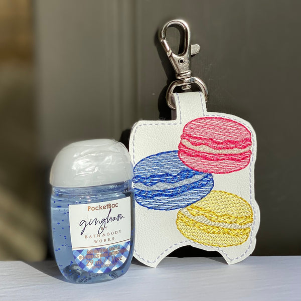 Hand Sanitizer Holders - Macarons