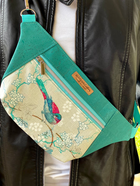 Dayna Pack - Bird w/ Aqua Cork