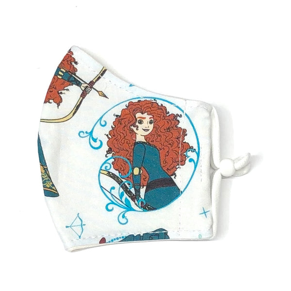 Child Face Masks (3-6yrs) - Merida (Brave)