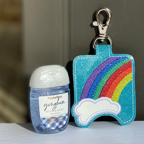 Hand Sanitizer Holders - Rainbow