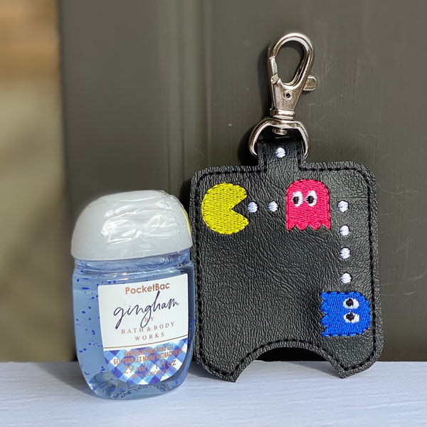 Hand Sanitizer Holders - Pac-Man